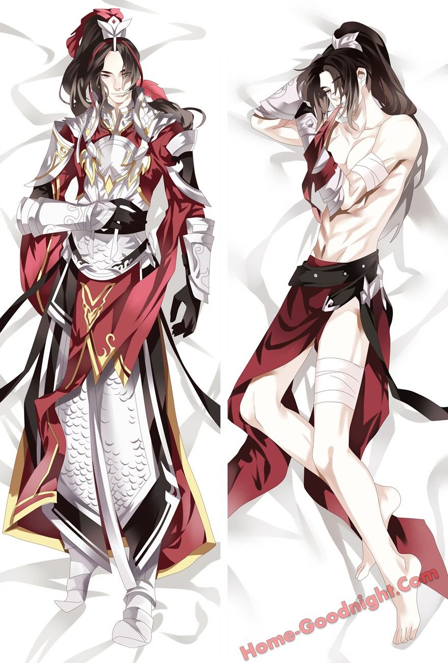 Jian Wang Game Male Anime Dakimakura Japanese Hugging Body Pillow Cover