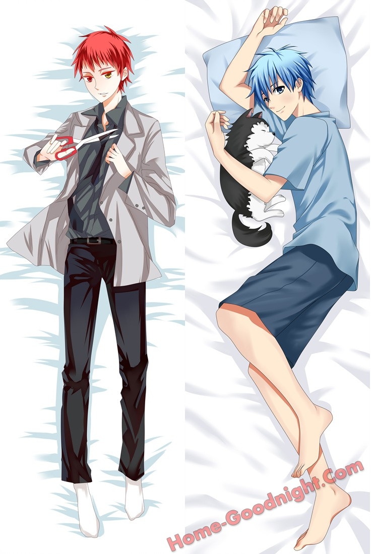 Kuroko no Basuke Male Anime Dakimakura Japanese Hugging Body Pillow Cover