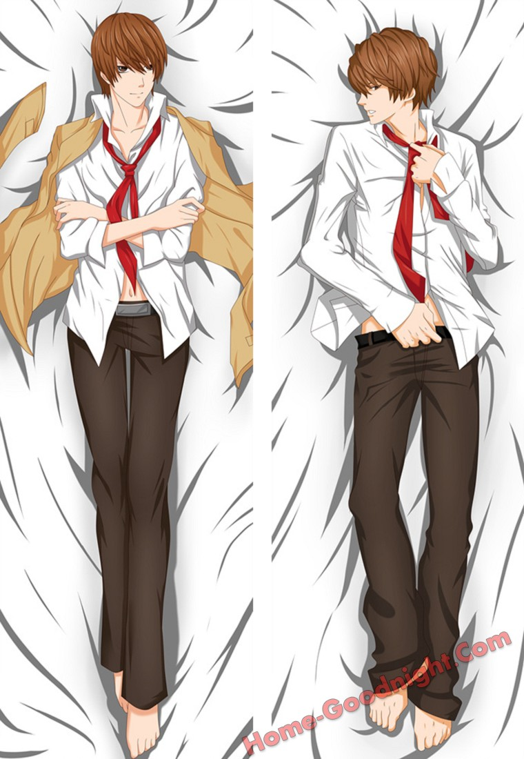 Yagami Light - Death Note Male Anime Dakimakura Japanese Hugging Body Pillow Cover