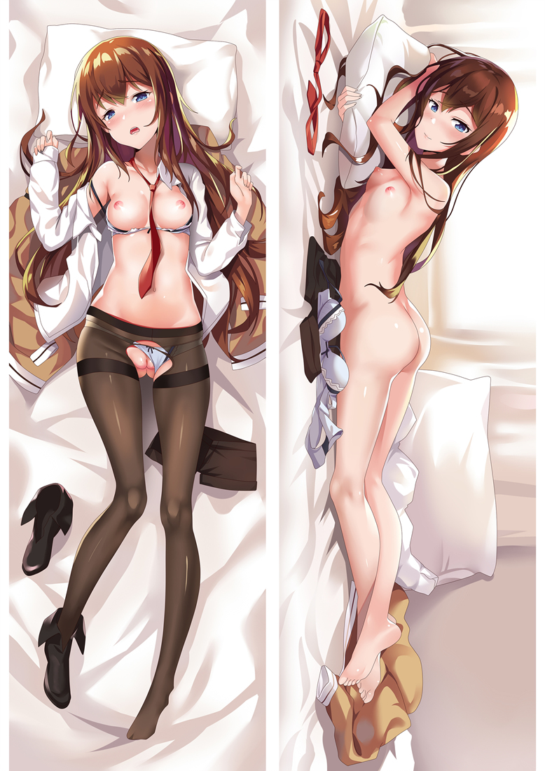 Makise Kurisu - Steiins Gate Body hug dakimakura girlfriend body pillow cover