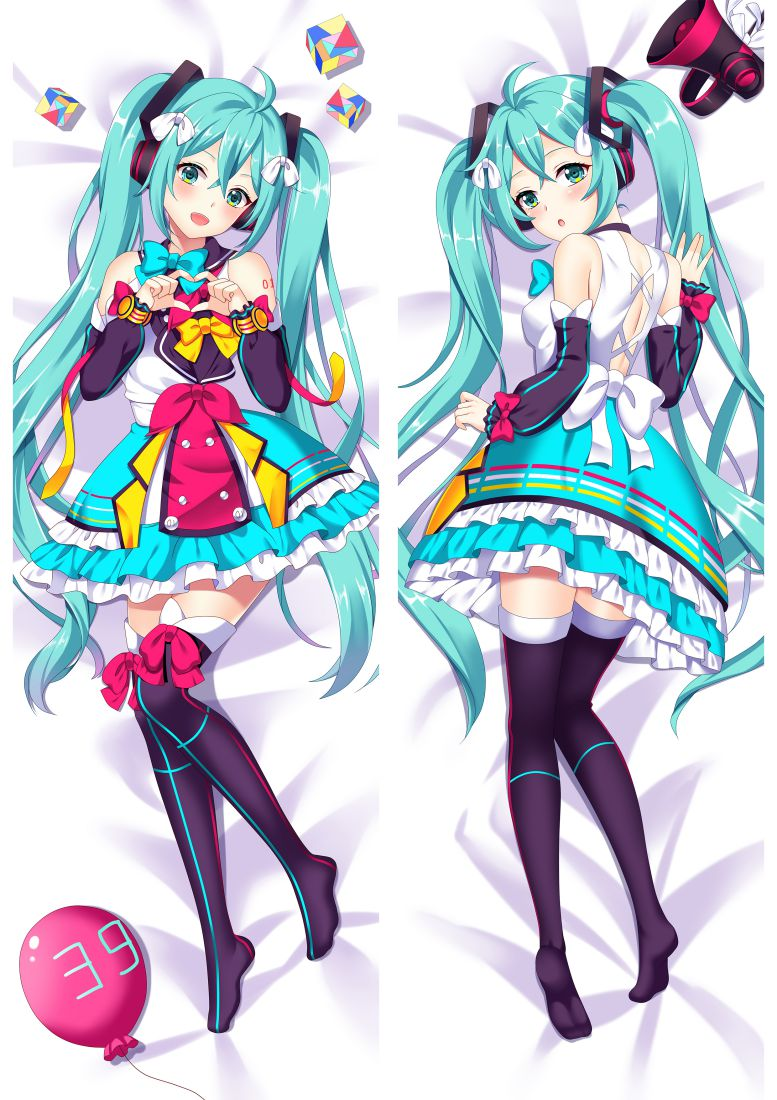 Hatsune Miku Anime Dakimakura Japanese Hugging Body PillowCases