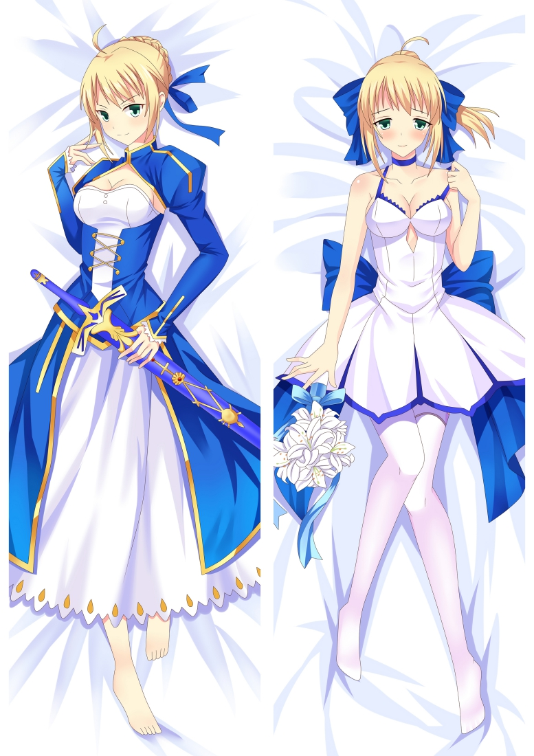 Fate stay night Altria Pendragon Saber Eater Anime Dakimakura Pillow