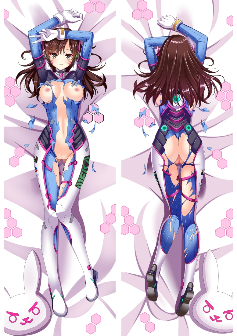 D.Va - Overwatch Dakimakura 3d pillow japanese anime pillow