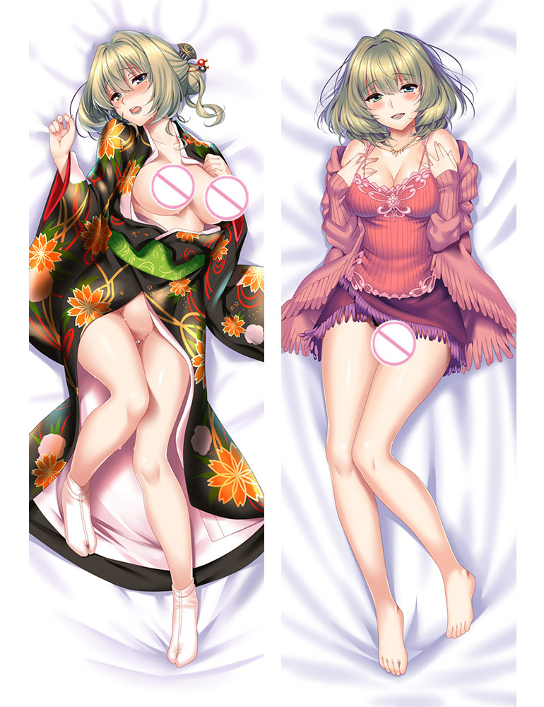 THE IDOLM@STER Anime Dakimakura Japanese Hug Body Pillow Case