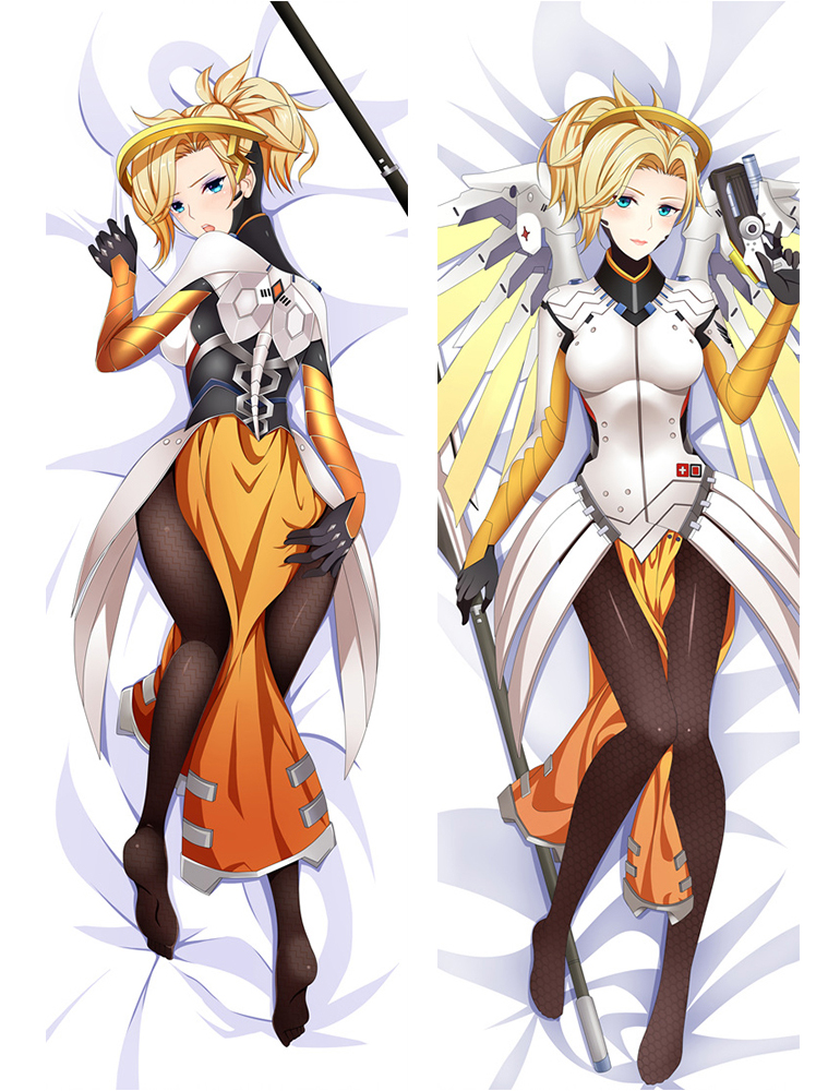 Mercy - Overwatch Anime Dakimakura Japanese Love Body Pillow Case