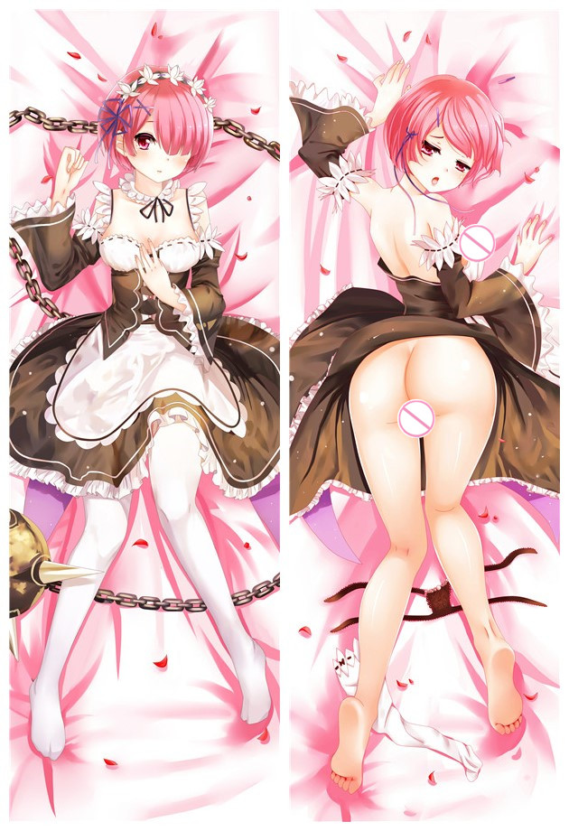 Ram - Re Zero Japanese hug dakimakura pillow case online