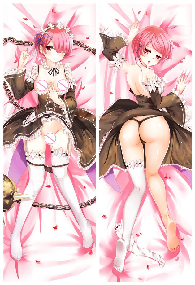 Ram - Re Zero Body hug dakimakura girlfriend body pillow cover