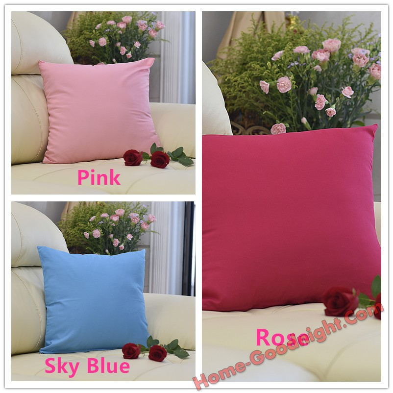 Conditional Free Gifts - Sofa cushion covers,square bed pillows for couch,Polyester,45*45cm(18x18 inch)
