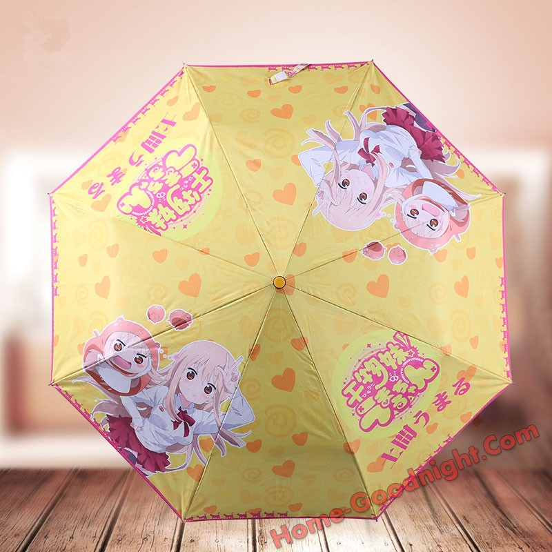 Himouto Umaru-chan Waterproof Anti-UV Never Fade Foldable Anime Umbrella