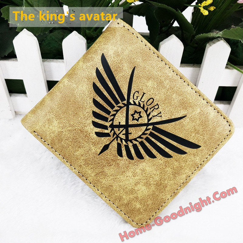 The king's avatar Multi-functional Anime Wallets