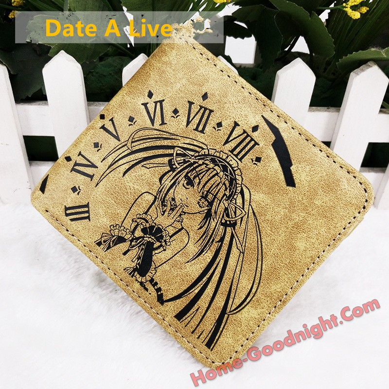 Date A Live Multi-functional Anime Wallets