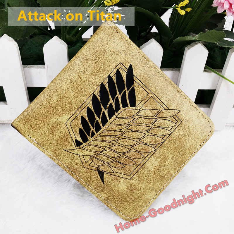 Attack on Titan Multi-functional Anime Wallets