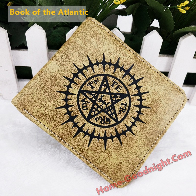 Book of the Atlantic Multi-functional Anime Wallets
