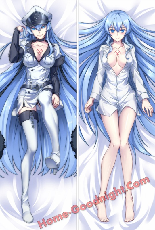 Akame ga KILL! - Esdeath Anime Dakimakura Japanese Hugging Body PillowCase