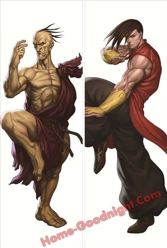 Street Fighter Anime Dakimakura 3d pillow japanese anime pillowcase