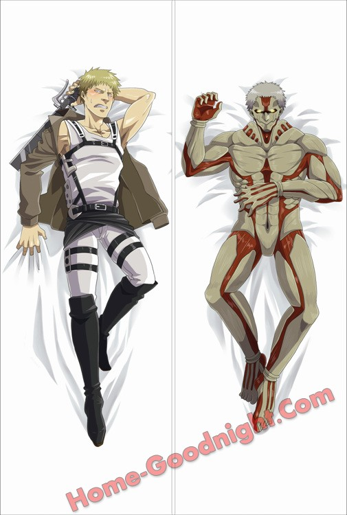 Attack on Titan- Reiner Braun Anime Dakimakura Japanese Hugging Body Pillow Cover