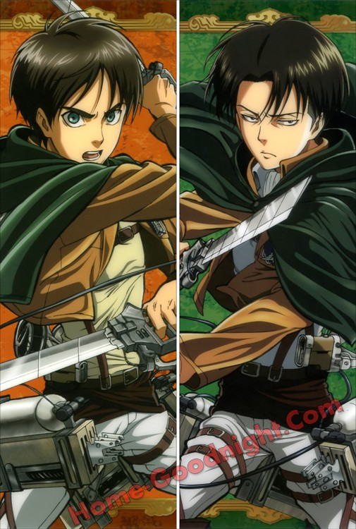 Attack on Titan- Levi Ackerman Long anime japenese love pillow cover