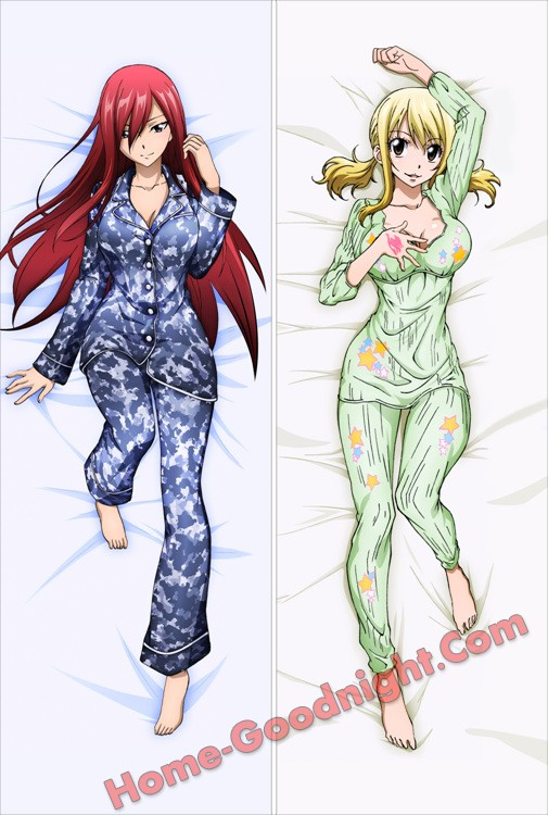 Fairy Tail - Erza Scarlet - Lucy Heartfilia Anime Dakimakura Hugging Body Pillow Cover