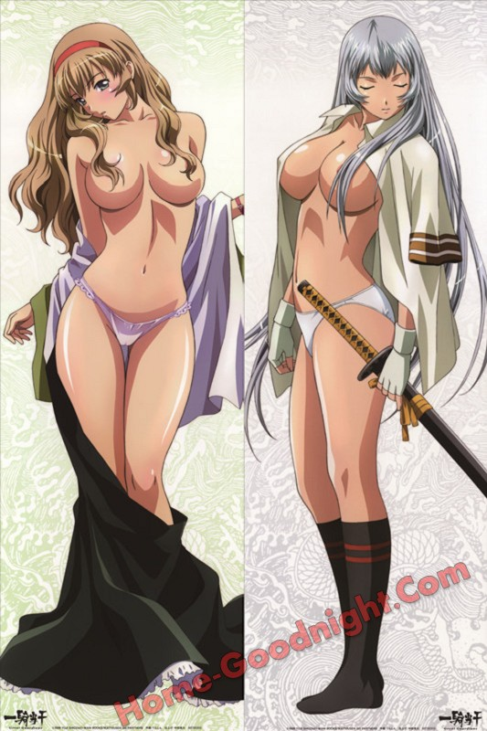 Battle Vixens - Hakufu Sonsaku Anime Dakimakura Hugging Body Pillow Cover