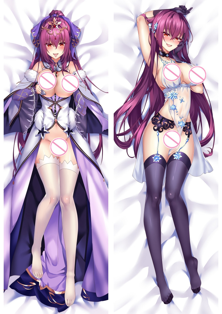 Fate Grand Order Scathach Anime Dakimakura Japanese Love Body Pillow Cover