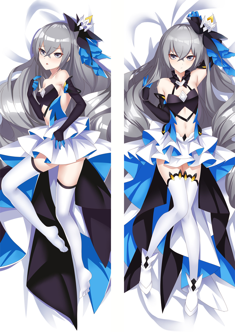 Honkai Impact 3 Bronya Zaychik Anime Dakimakura Japanese Love Body Pillow Cover
