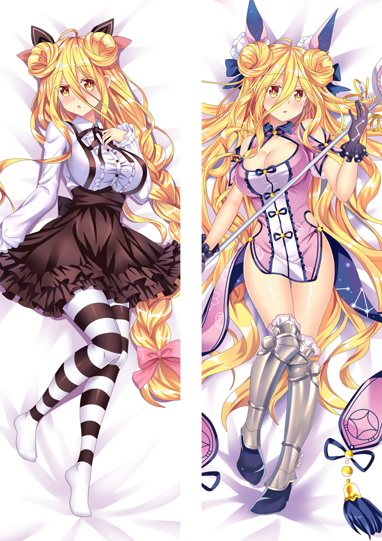 Date A Live Zodiac Muku Anime Dakimakura Japanese Love Body Pillow Cover