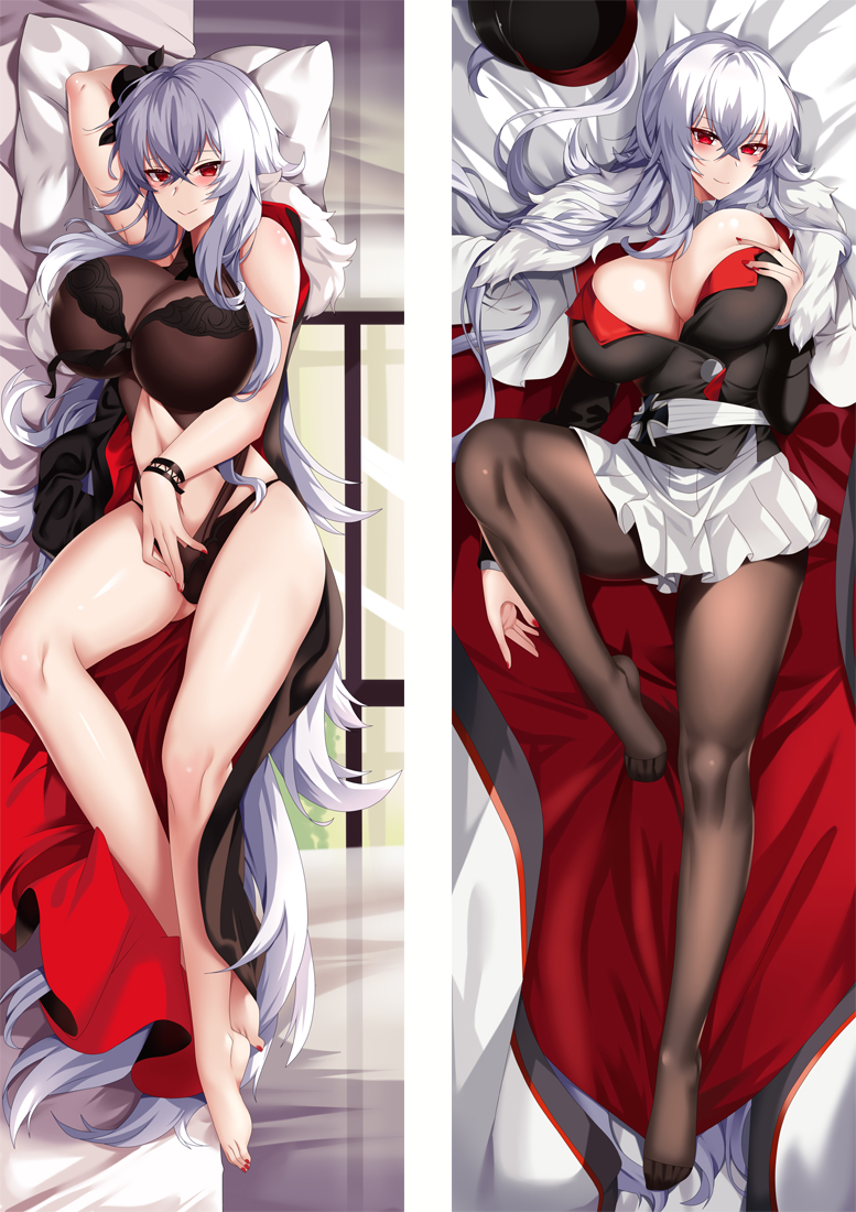 Azur Lane Graf Zeppelin Anime Dakimakura Japanese Love Body Pillow Cover
