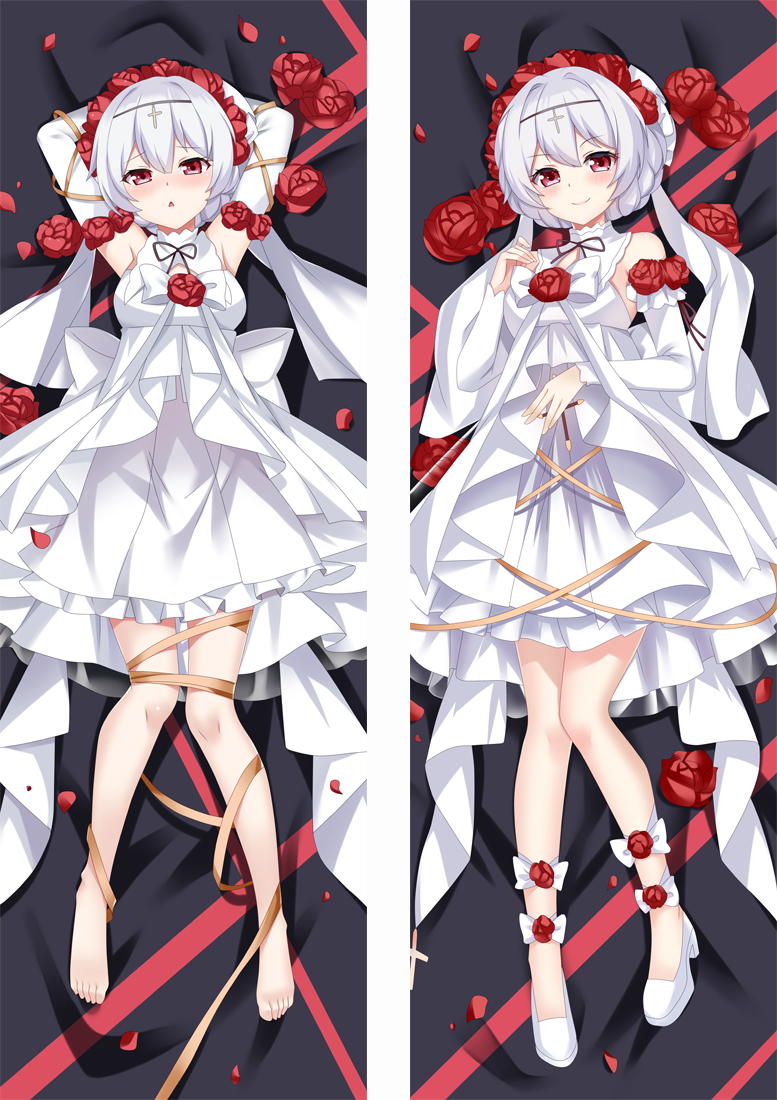 Honkai Impact 3rd Teresa Apocalypse Anime Dakimakura Japanese Love Body Pillow Cover