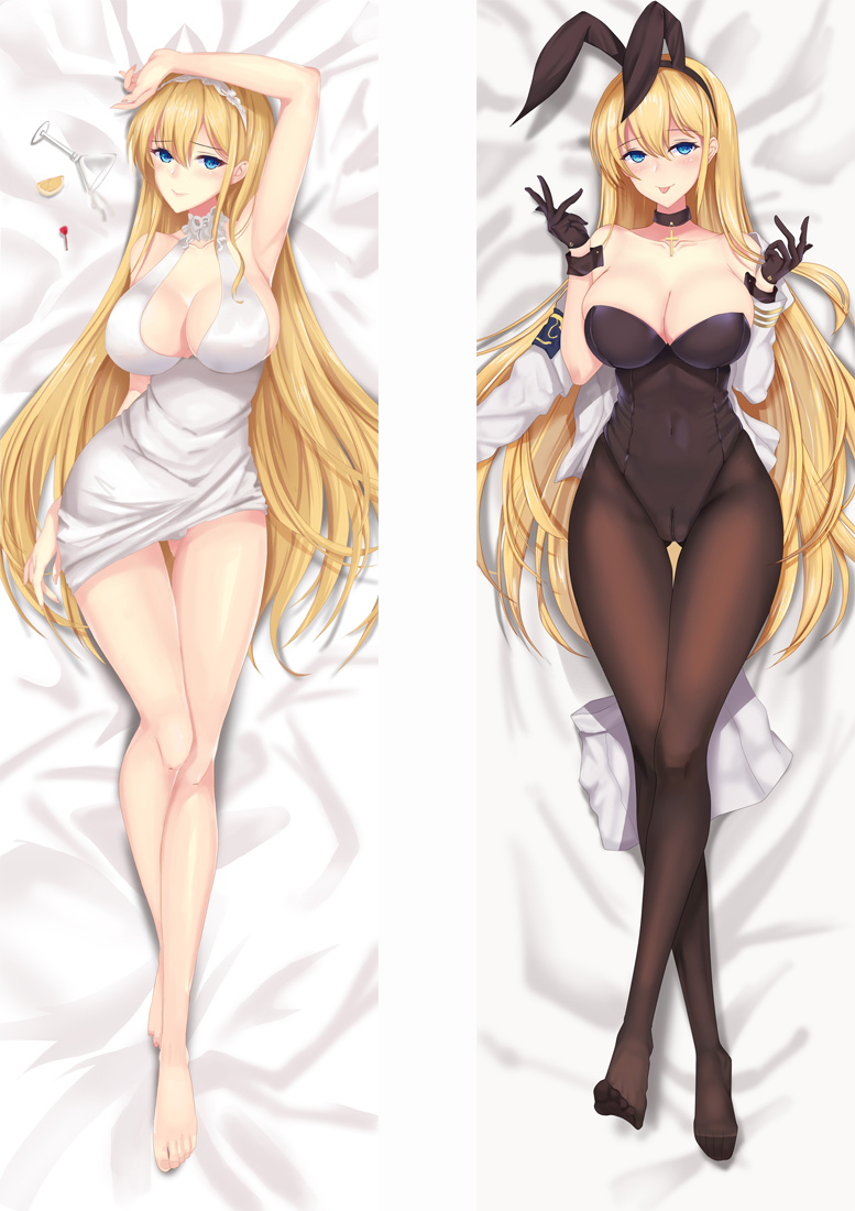 North Carolina Azur Lane Anime Dakimakura Japanese Love Body Pillow Cover