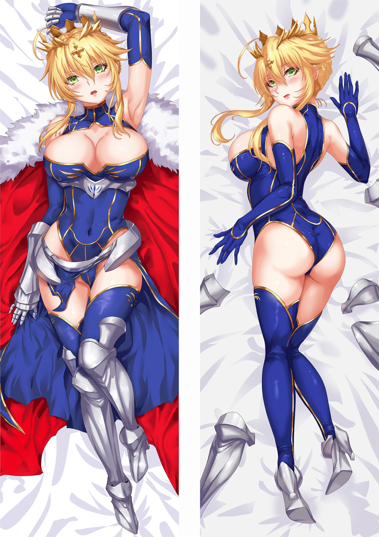 FGO FATE GRAND ORDER ALTRIA PENDRAGON LANCER Dakimakura 3d pillow japanese anime pillowcase
