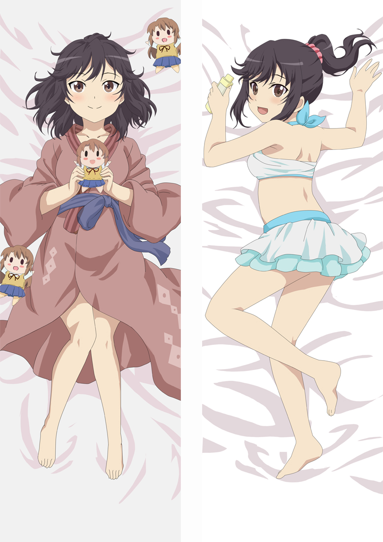Non Non Biyori Dakimakura 3d pillow japanese anime pillowcase