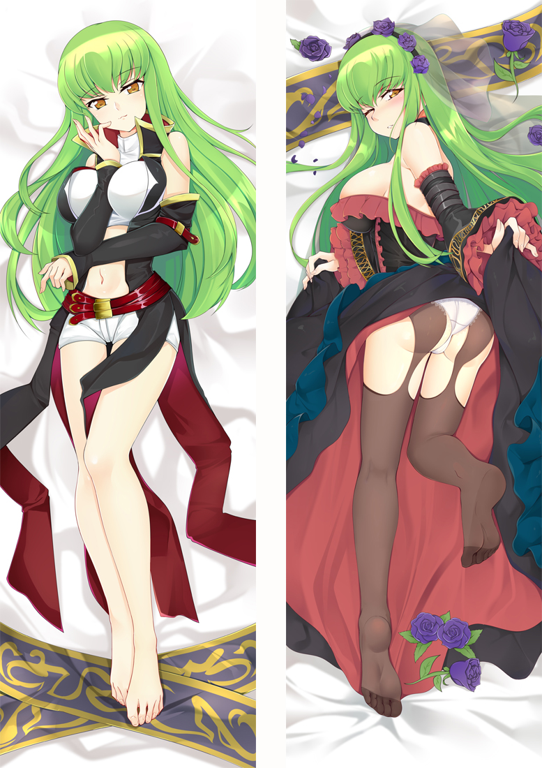 Code Geass CC Anime Dakimakura Japanese Love Body Pillow Cover