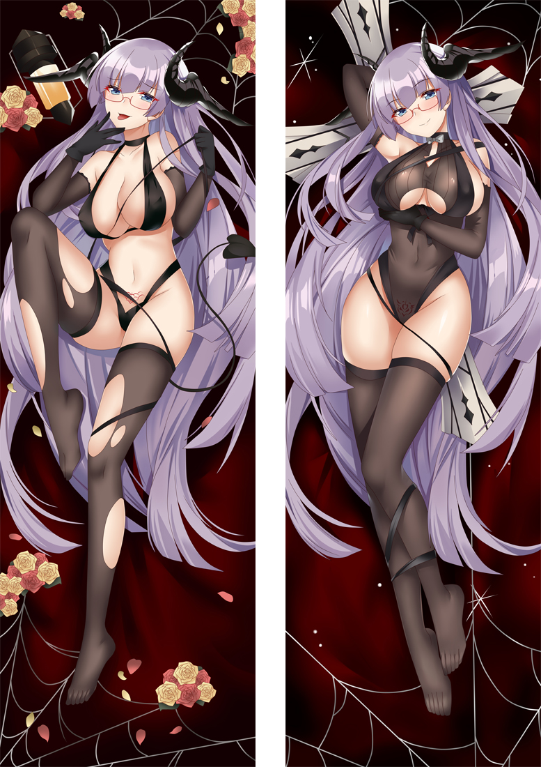 Azur Lane Gneisenau Anime Dakimakura Japanese Hugging Body PillowCover