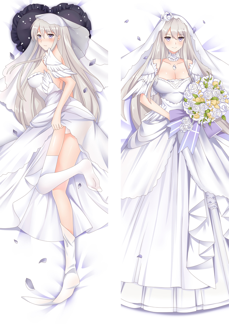 Azur Lane USS Enterprise (CV-6) Anime Dakimakura Japanese Hugging Body PillowCover
