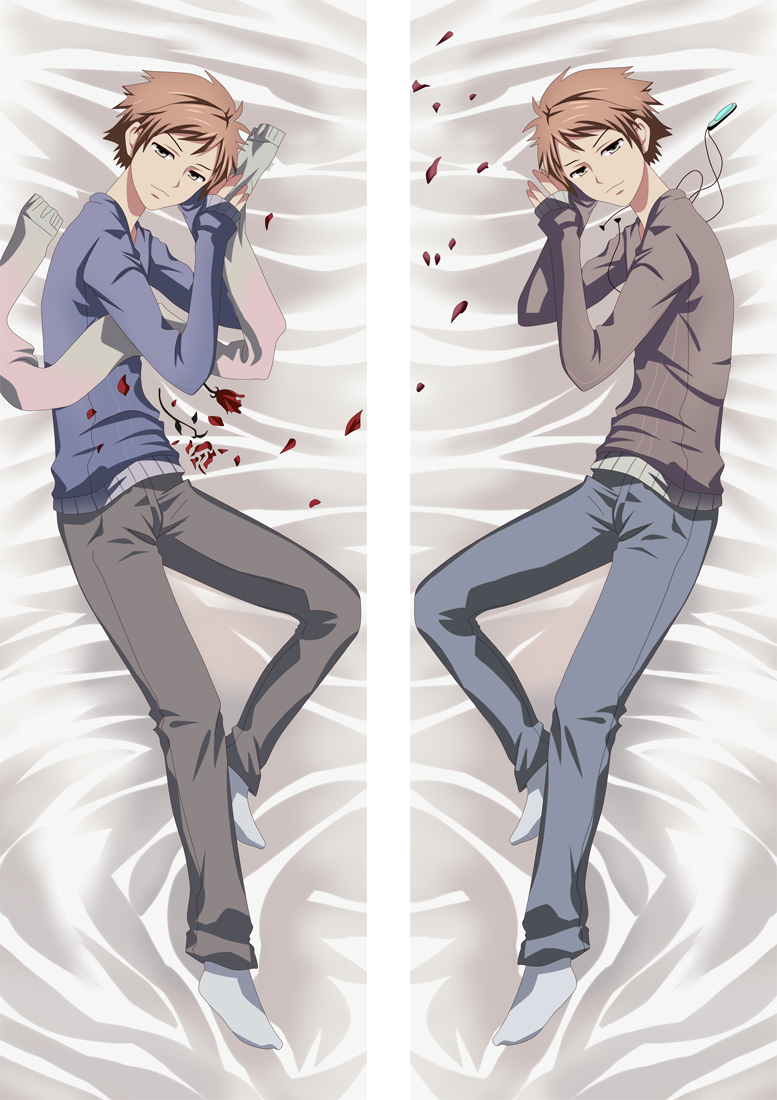 Ouran High School Host Club Anime Dakimakura Japanese Hugging Body PillowCover