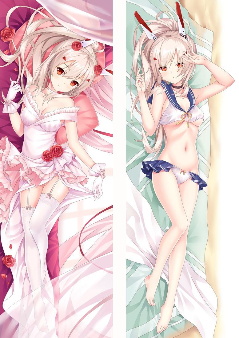 Azur Lane Ayanami Anime Dakimakura Japanese Love Body Pillow Cover