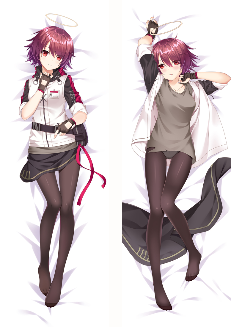 Arknights Exusiai Anime Dakimakura Japanese Love Body Pillow Cover