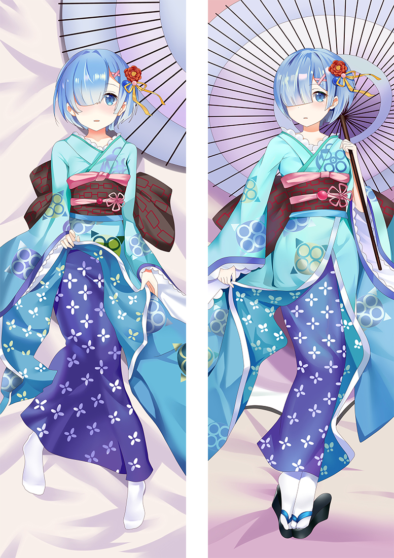 ReZero ? Starting Life in Another World Rem Anime Dakimakura Japanese Hugging Body PillowCases