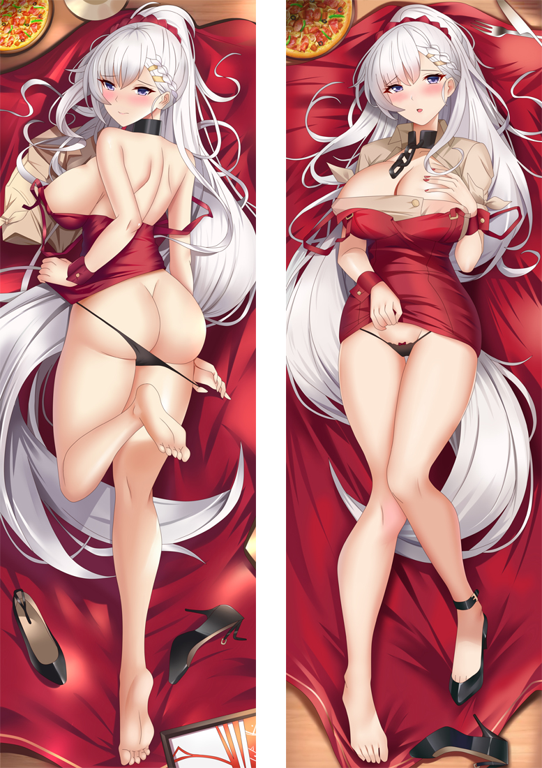 Azur Lane Anime Dakimakura Japanese Hugging Body PillowCover