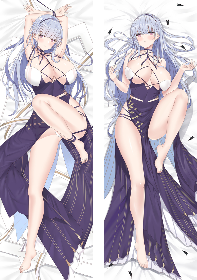 Azur Lane HMS Dido Anime Dakimakura Japanese Hugging Body PillowCover