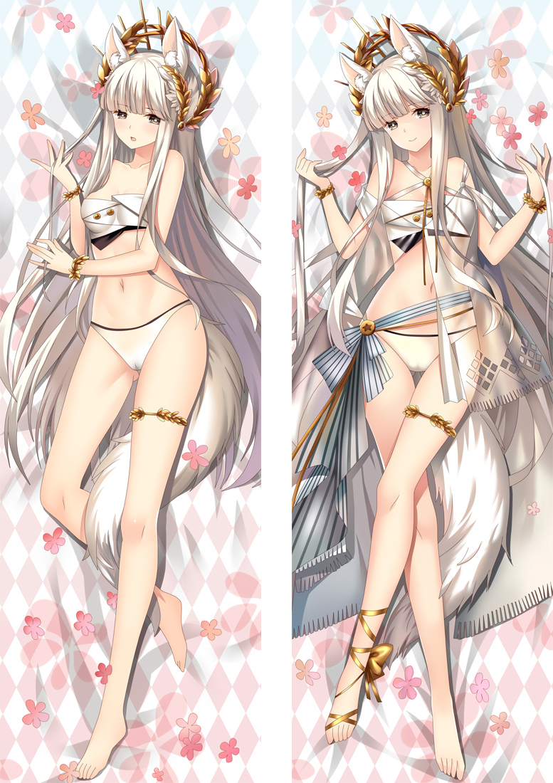 Arknights Platinum Anime Dakimakura Japanese Hugging Body PillowCover
