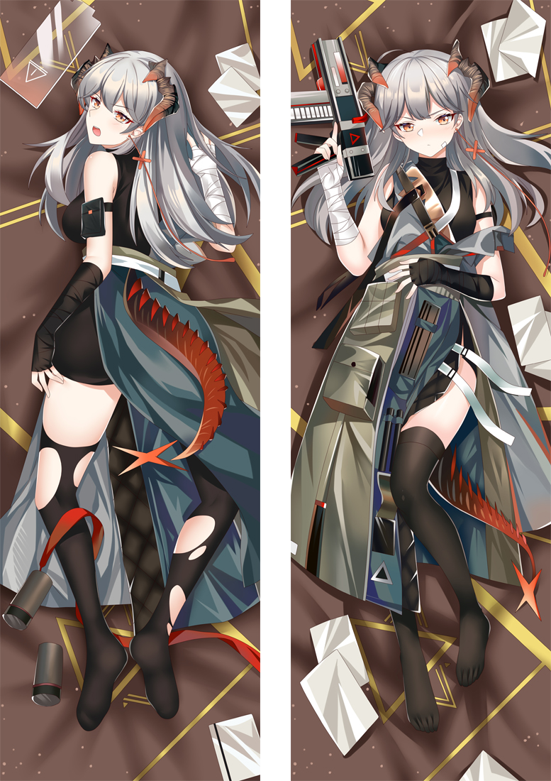 Arknights Saria Anime Dakimakura Japanese Hugging Body PillowCover