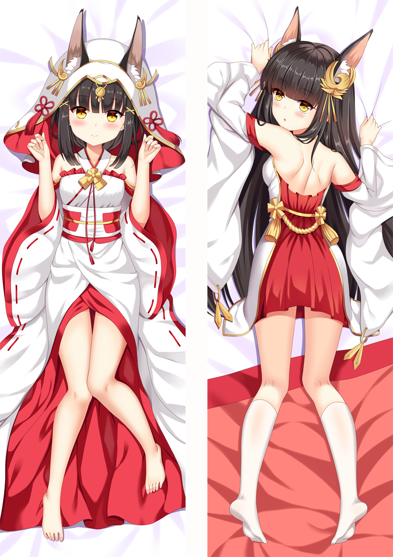 Azur Lane Nagato Anime Dakimakura Hugging Body PillowCases
