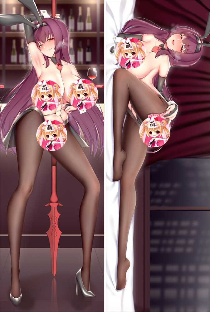 Fate Grand Order FGO Scathach Anime Dakimakura Japanese Hugging Body PillowCover