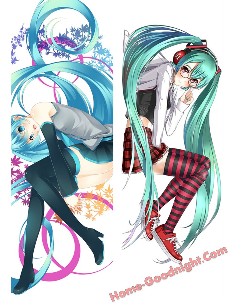 Hatsune Miku - Vocaloid Anime Dakimakura Japanese Hugging Body Pillow Cover