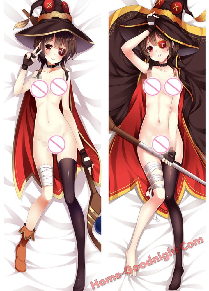 Megumin - Konosuba Anime Dakimakura Japanese Hugging Body Pillow Cover