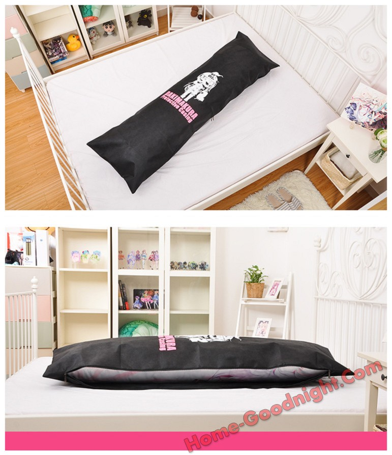 Anime Dakimakura Pillow Dust-Free Protector Cover Travel Hugging Protective PillowCase