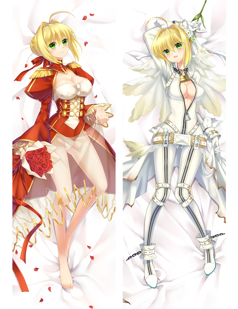 Saber - Fate Anime Dakimakura Japanese Hugging Body Pillow Cover