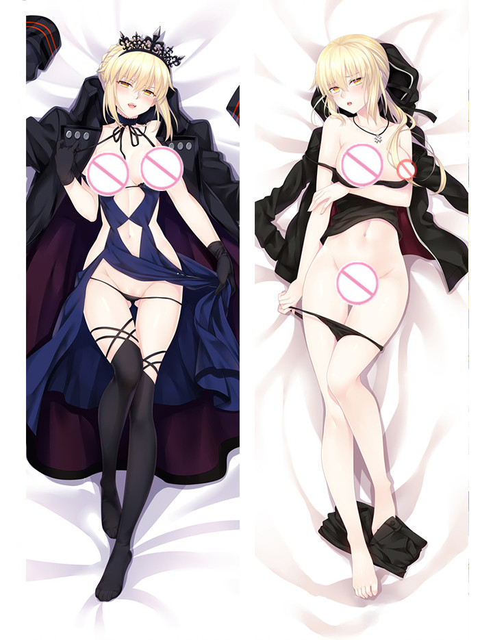 Saber - Fate Anime Body Pillow Case japanese love pillows for sale