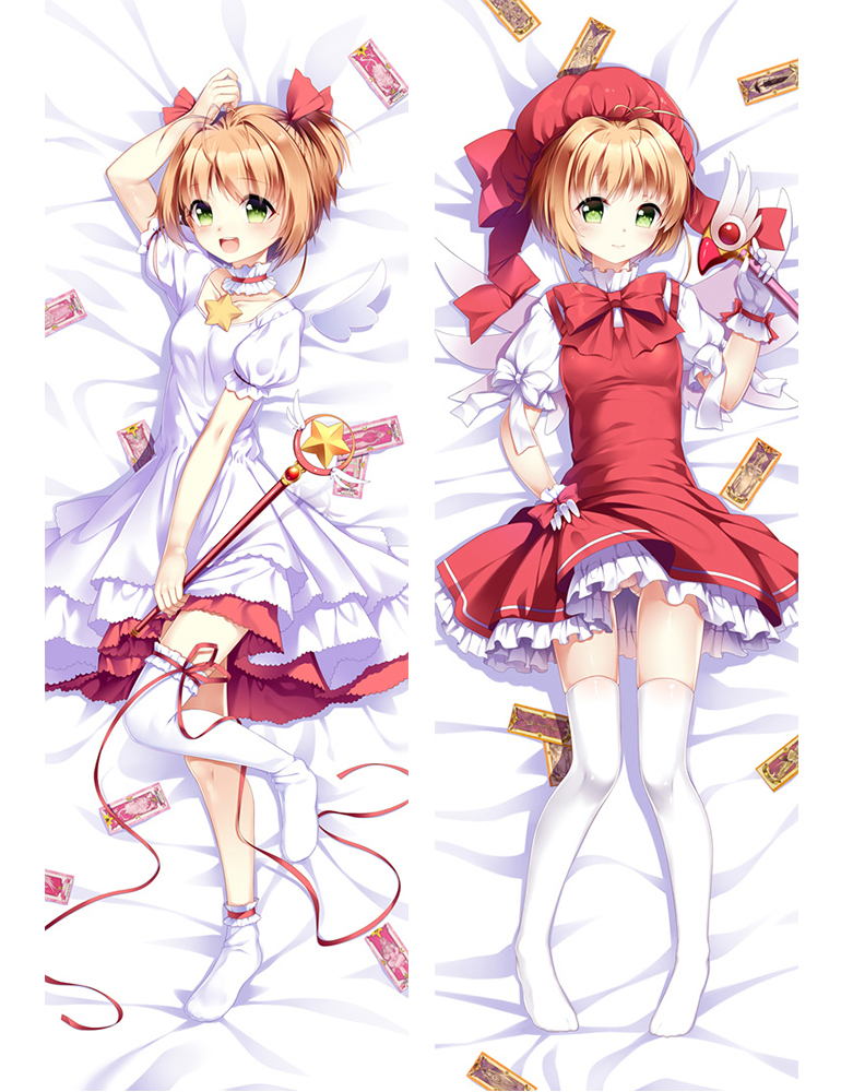 Sakura Kinomoto - Cardcaptor Sakura Full body pillow anime waifu japanese anime pillow case